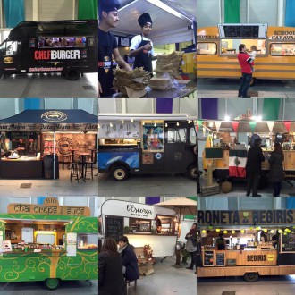 collage feria food truck chef burger irun