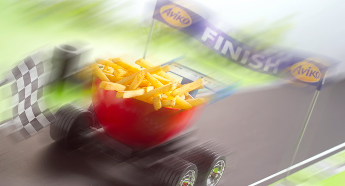 patatas fritas congeladas Turbo