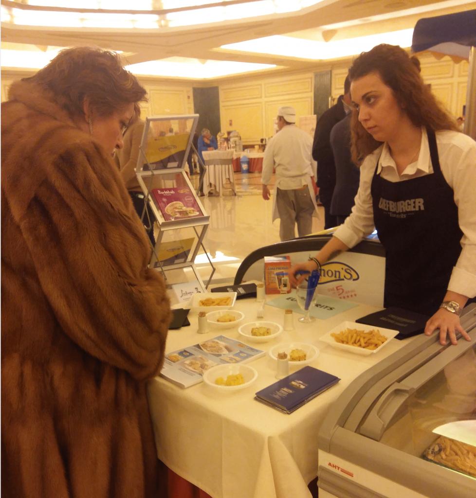 Degustación Eurofrits en Jornada Customar