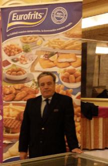 José María Peralta, Delegado Comercial de Eurofrits, En la Jornada Customar