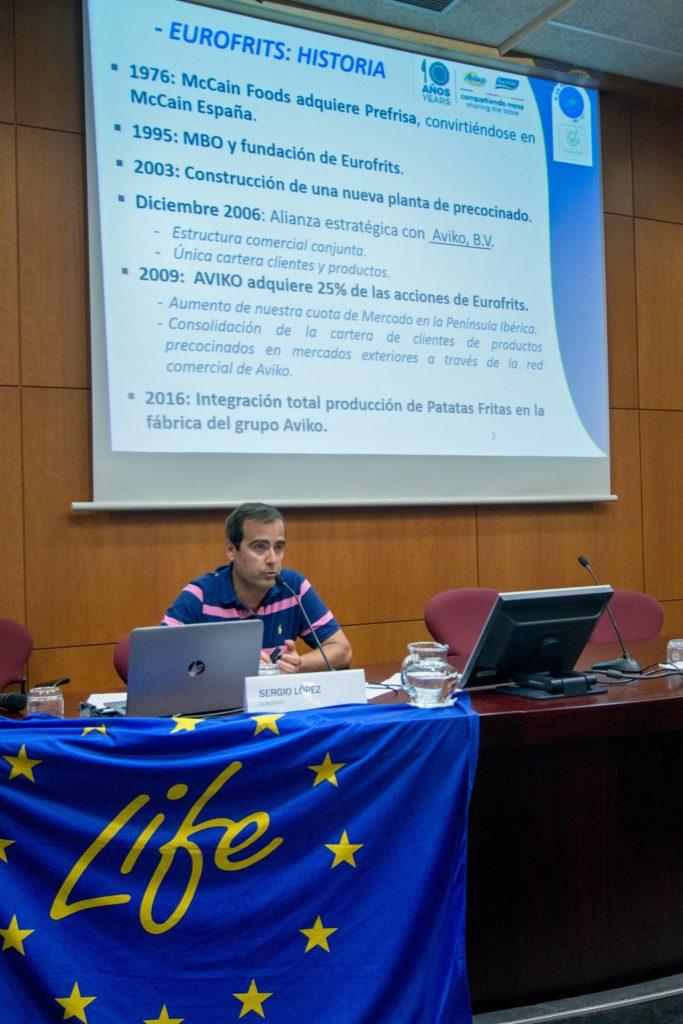 Sergio López, energías anaerobias Eurofrits
