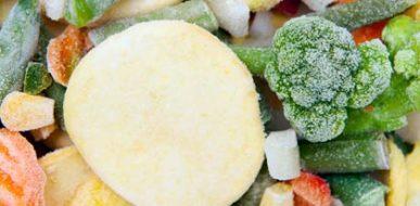 Manejar alimentos congelados