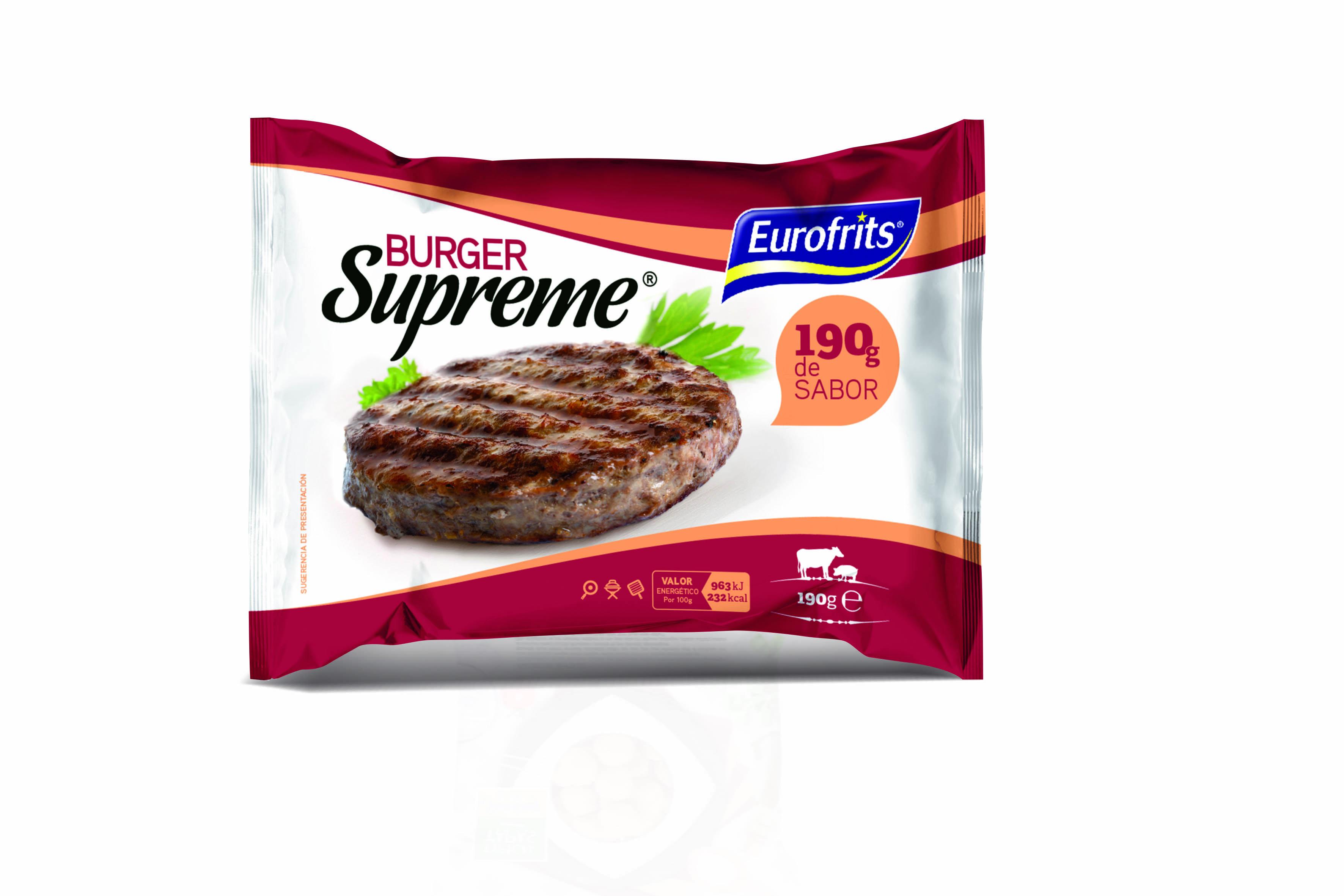 Burger Supreme Eurofrits