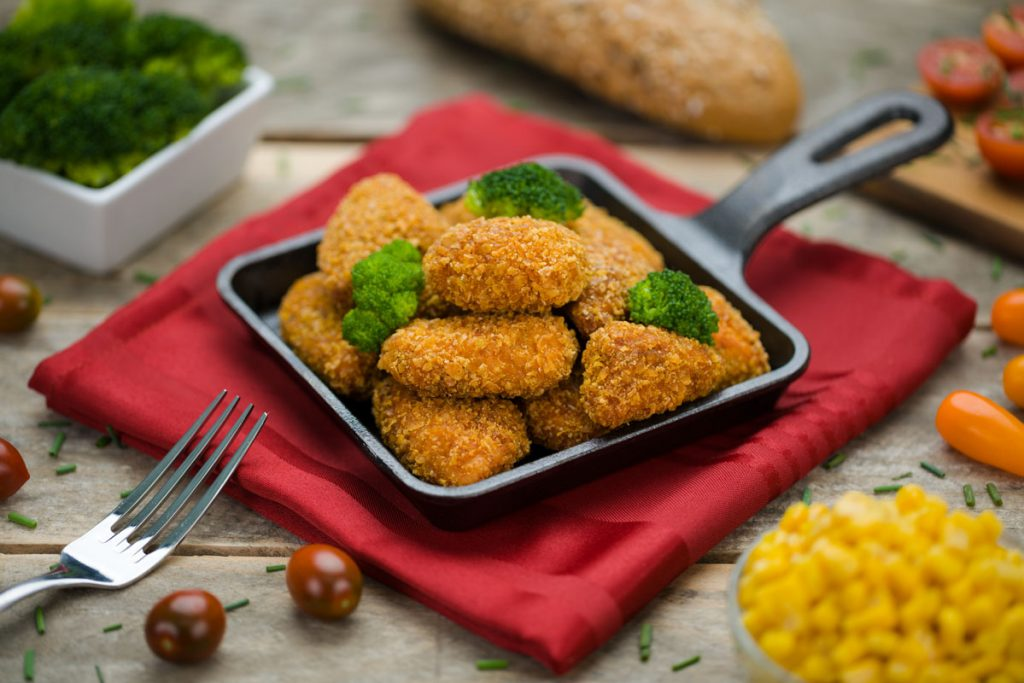 Typical Tapas Delicias de pollo cajun eurofrits