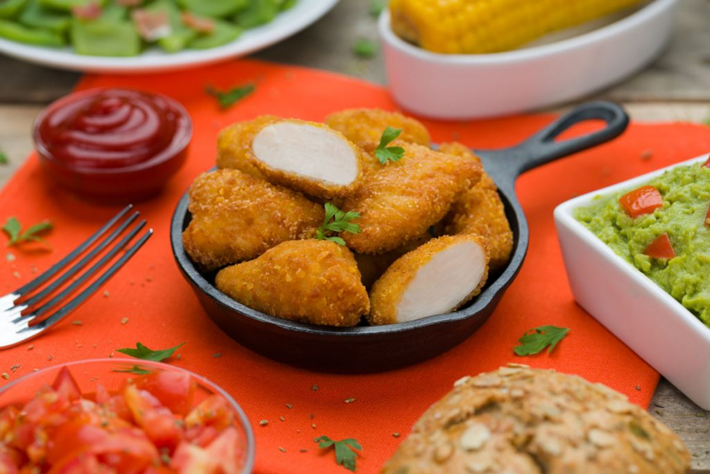 Typical Tapas delicias de pechuga de pollo Eurofrits