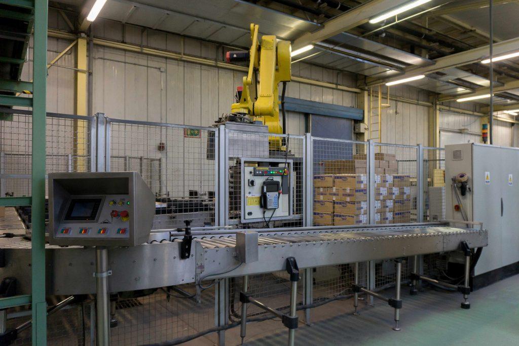 embalaje productos fábrica congelados Eurofrits