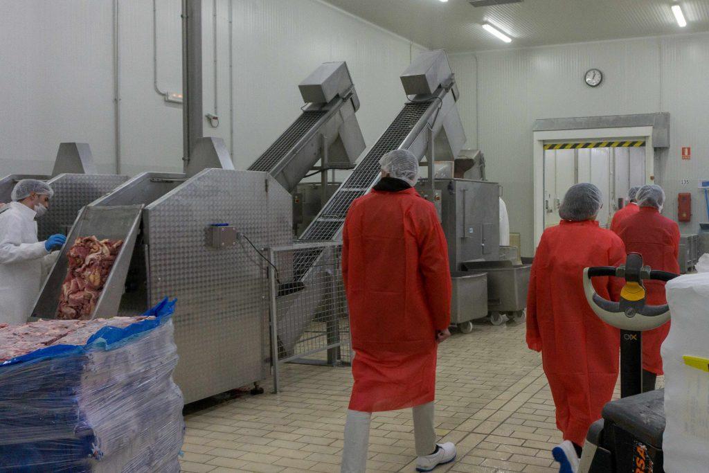 Sala Mezcla de fábrica congelados Eurofrits