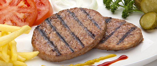 burger vacuno y cerdo congelada eurofrits