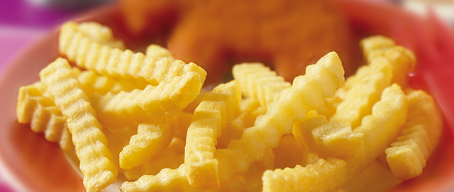 patata crinckle congelados eurofrits