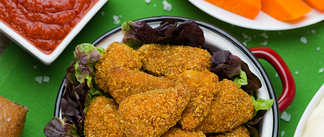 delicias pollo cajun congelados eurofrits