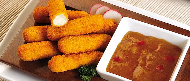 fingers mozarella congelados eurofrits