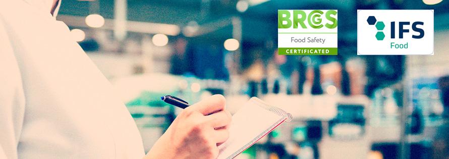 Certificaciones BRC e IFS Eurofrits