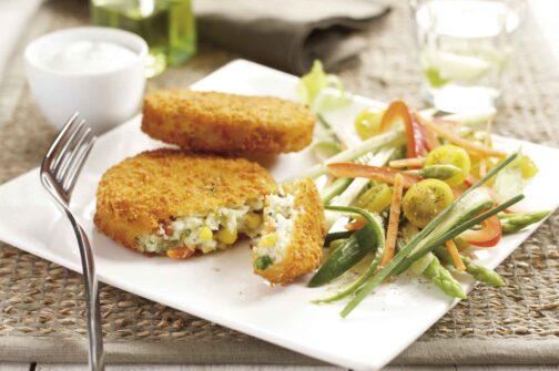 Burger vegetal Eurofrits