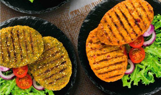 Veggie Burgers Eurofrits