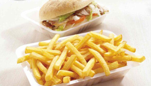 Patata Kebab Eurofrits