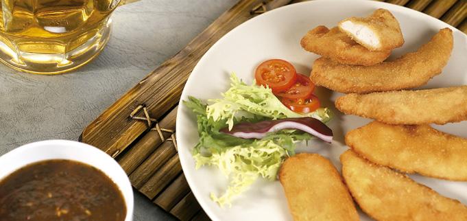 Finger de pollo marinado Eurofrits