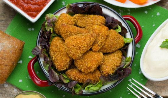 Solomillo de pollo frito Sabor Cajún Eurofrits